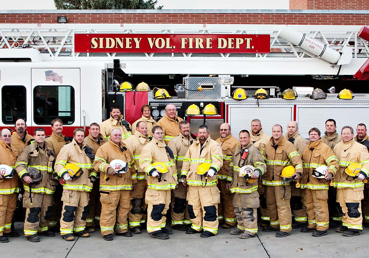 Access the Sidney Volunteer Fire Department photo gallery.